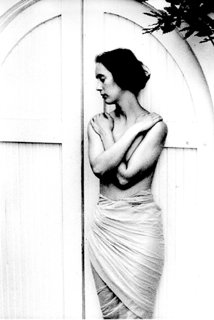 [White Door. © 1991, Lizabeth A. Johnson]